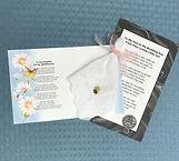 Wedding hankie gifts, sentimental keepsakes - Angel Designs by Denise
