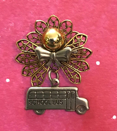 School Bus Driver Angel Pin #492