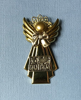 Quilting Angel Pin #770