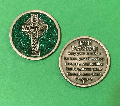 Irish Blessing Companion Coin