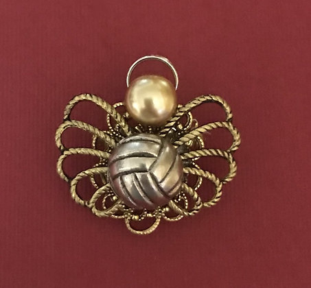 Volleyball Angel Pin #571