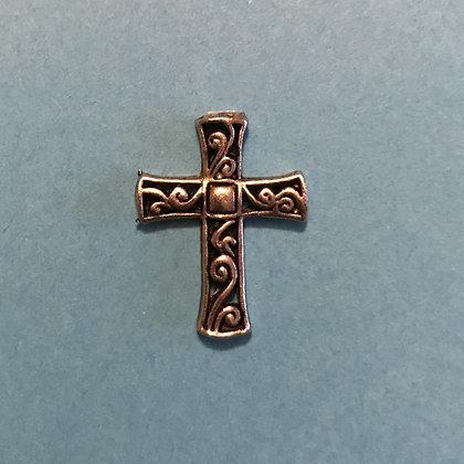 Scrolled Cross Token