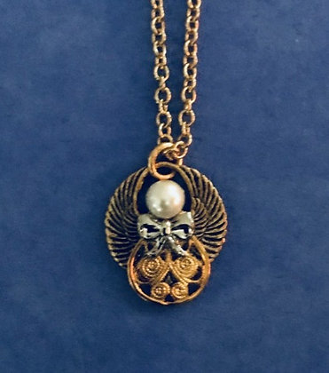 Guardian Angel Necklace #148 PN