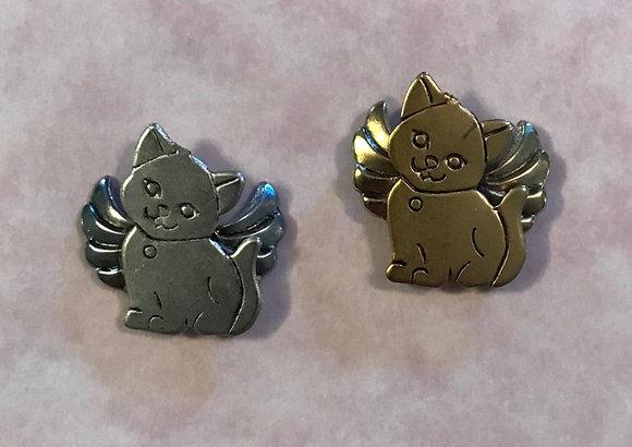Kitty Angel Pin #670