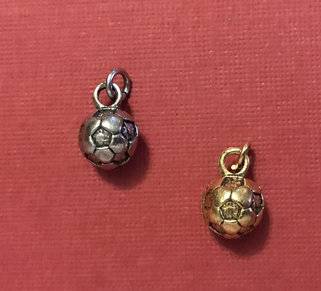 Small Soccer Ball Charm (Solid)