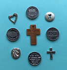 Pocket tokens  - Angel Pins by Denise