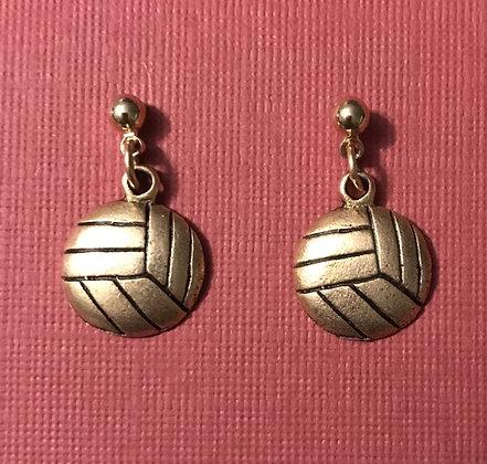 Medium Volleyball Earrings