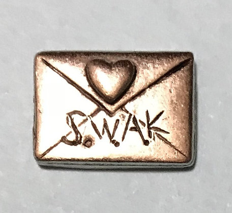 SWAK Sealed With A Kiss Token