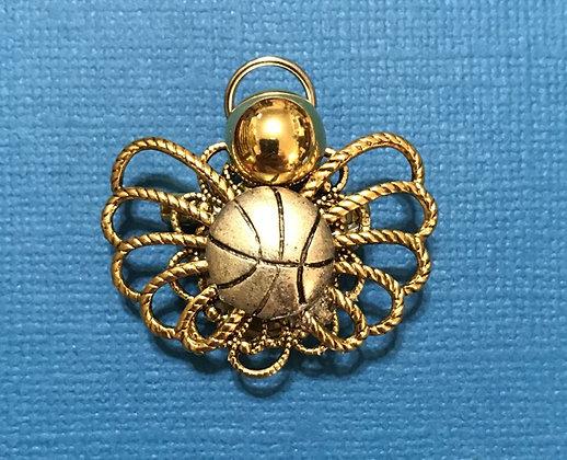 Basketball Angel Pin #312
