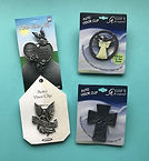 Visor Clips - Angel Designs by Denise