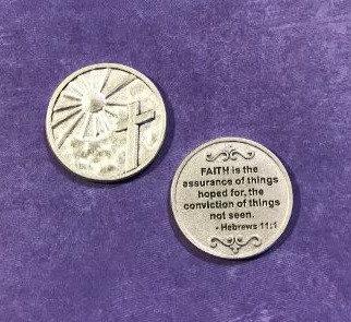Faith Is...Pocket Token