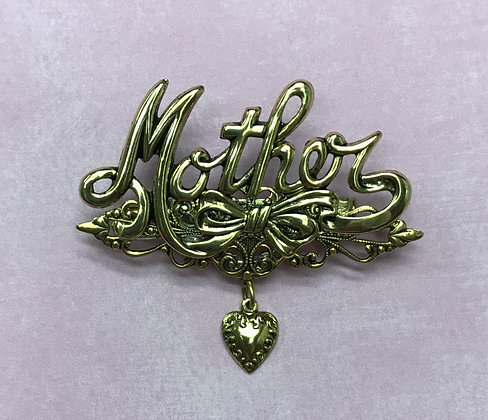Mother Pin with Heart #902