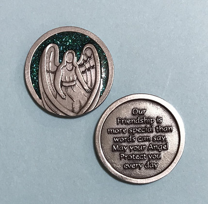 Friendship Guardian Angel Companion Coin
