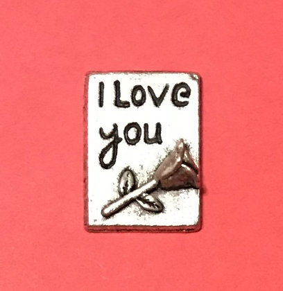 I Love You With Rose Token