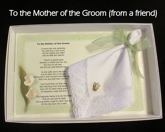Mother of Groom Gift Set (from friend) Gift Set