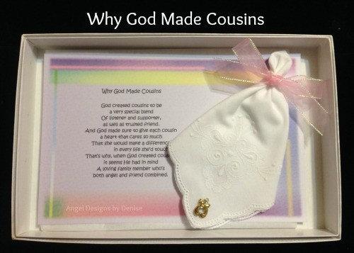 Why God Made Cousins Gift Set