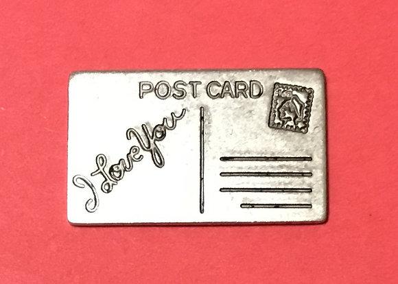 I Love You Postcard Pocket Token