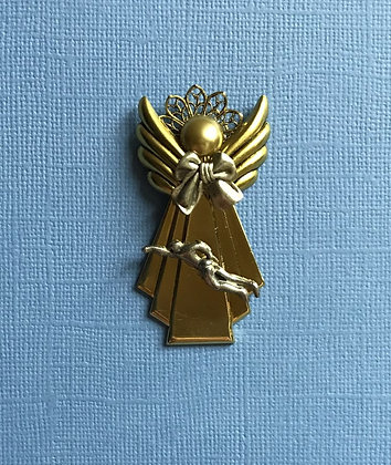 Male Swimming Angel Pin #540