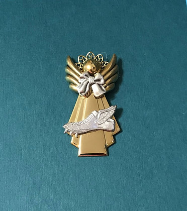 Winged Foot Track Angel Pin #564