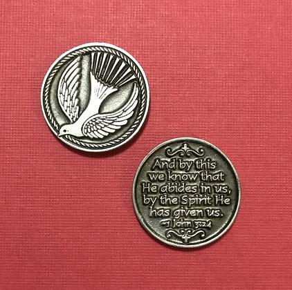 Dove Holy Spirit Pocket Token