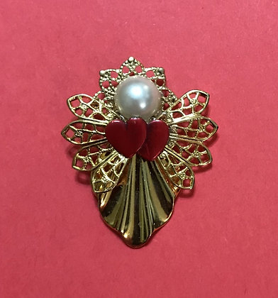 Angel of Love Angel Pin #203V2RED