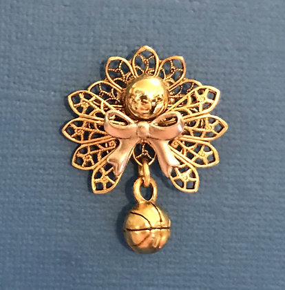Basketball Angel Pin #315