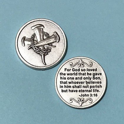 John 3:16 Pocket Token