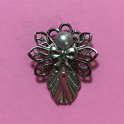 Breast Cancer Angel Pin #136BC