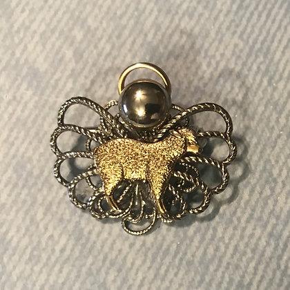 Lamb/Sheep Angel Pin #644