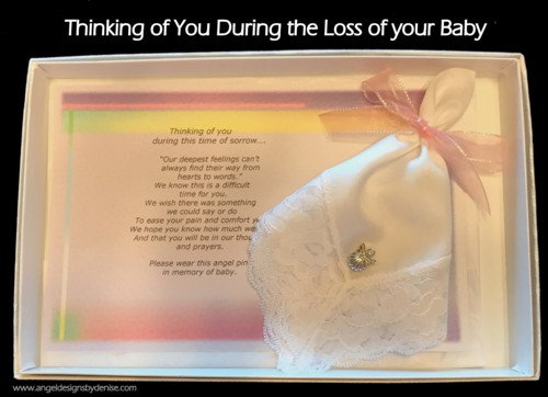 Loss of Child or Baby Gift Set