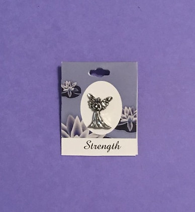 Strength Blessing Angel Pin