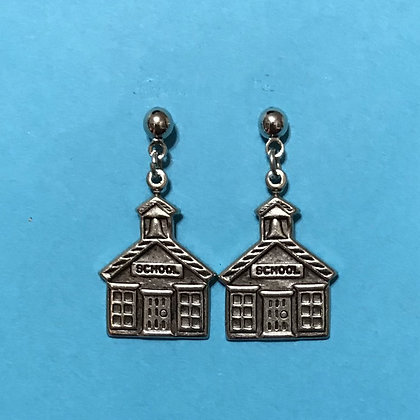 School House Teacher Earrings