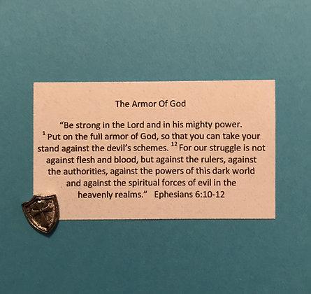 Armor of God Token & Card Set