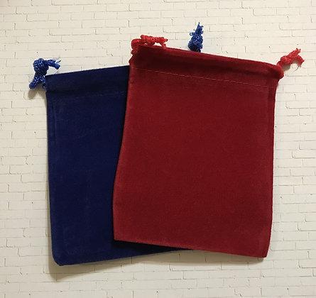 Small Velveteen Gift Bags