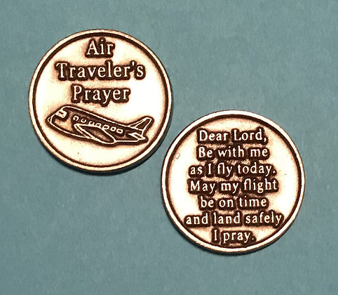 Air Traveler's Prayer  Pocket Token