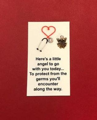 Healthcare Worker Angel Pin