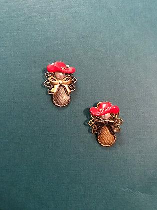 Red Hat Angel Pin #108REDHAT