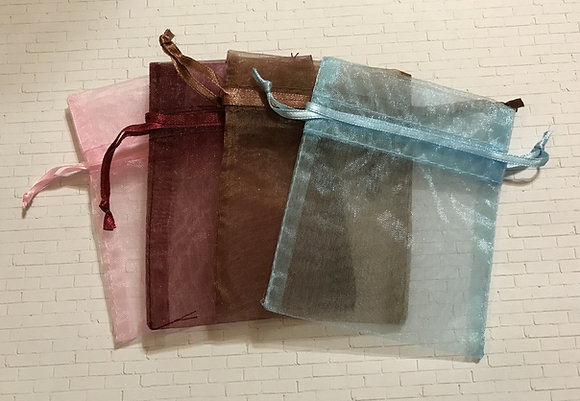 Small Organza/Velveteen Gift Bags