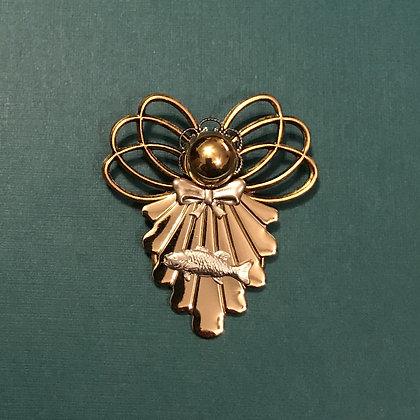 Fishing Angel Pin #880