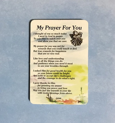 My Prayer For You Angel Pin Set #139