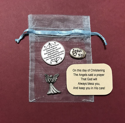 Christening Token Gift Set