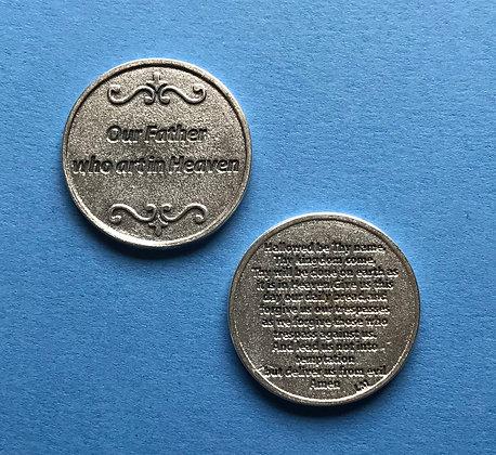 The Lord's Prayer pocket token