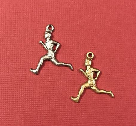 Male Runner Charm
