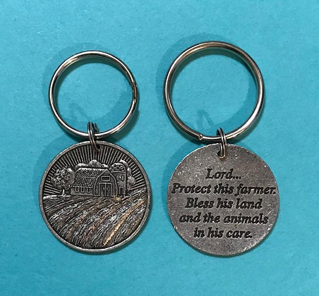 Farmer Key Ring