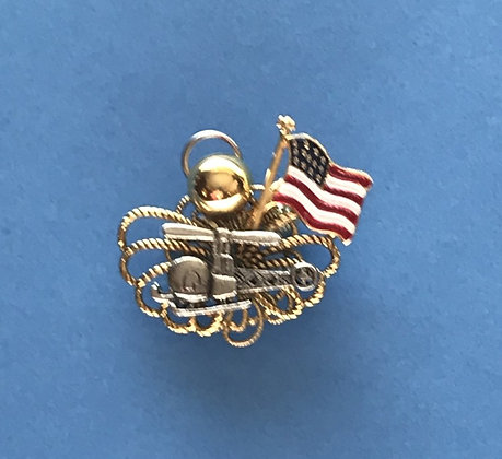 Helicopter Angel Pin #781