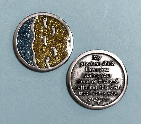 Footprints Companion Coin