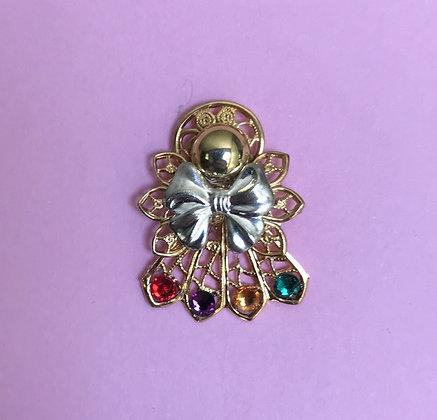Birthstone Angel pin #114