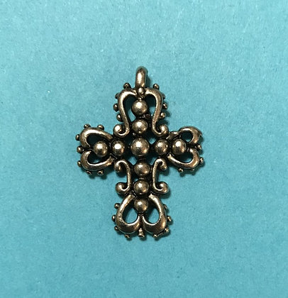 Ornate Cross Charm