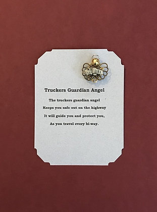 Truckers Angel Pin & Poem Card
