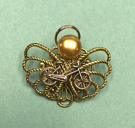 Bicycle Angel Pin #790